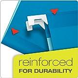 Pendaflex 04153X2 BLU Extra Capacity Reinforced