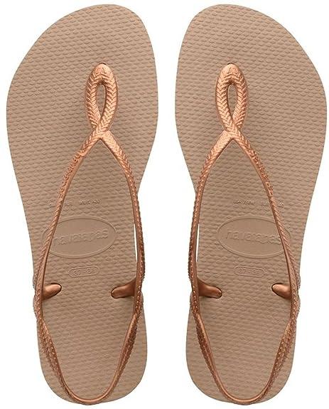 HavaianasLuna - Sandali Donna amazon-shoes neri Excelente Línea Barata Tienda De Descuento En Venta Envío Libre En Italia q9UPwWG