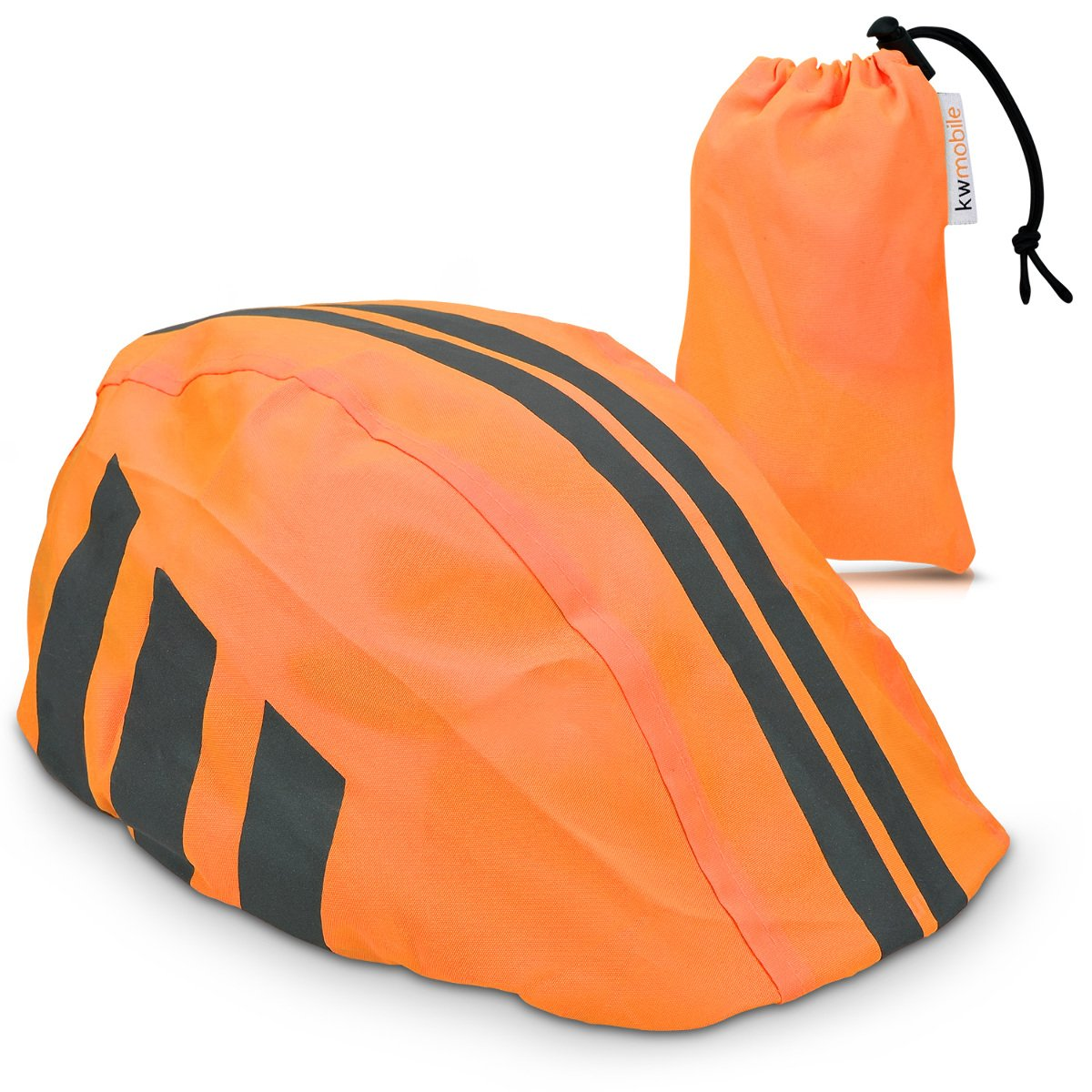 kwmobile Rain Protector Helmet Cover - Waterproof Helmet Protection Bike Helmet - Unisex High Visibility Rain Cover Cycling Riding Biking KW-Commerce 42047_m000579