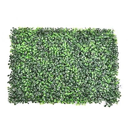 Planta artificial de boj artificial grass flor hoja cortasetos para adorno de decoración para el hogar