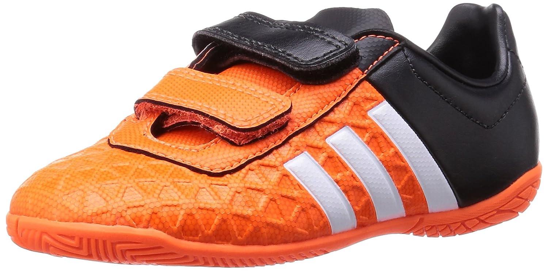 adidas Jungen Fußballschuhe adidas Herren Futsalschuhe Naranja/Negro/Blanco 38 2/3 EU Ace 15.4 IN J HL