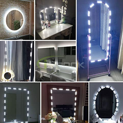 Culver led 60 leds 98 ft make up vanity mirror light diy light kits culver led 60 leds 98 ft make up vanity mirror light diy light kits for mozeypictures Choice Image