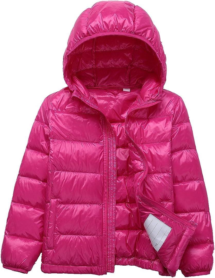 LANBAOSI Kids Winter Lightweight Puffer Jacket Boys Girls Down Jacket