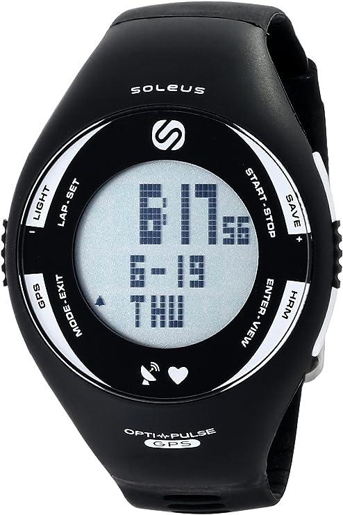 TALLA n/a. Soleus Pulse GPS Uhr Herzfrequenzmesser - GPS de Running