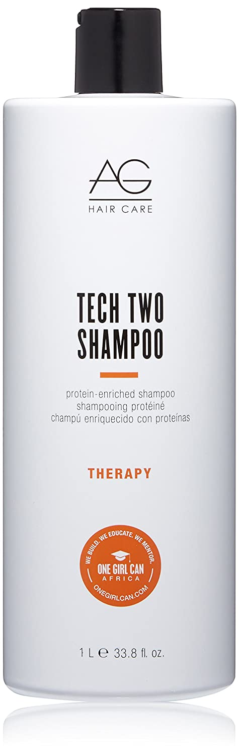 AG Hair Therapy Tech Two Protein-Enriched Shampoo, 10 Fl Oz