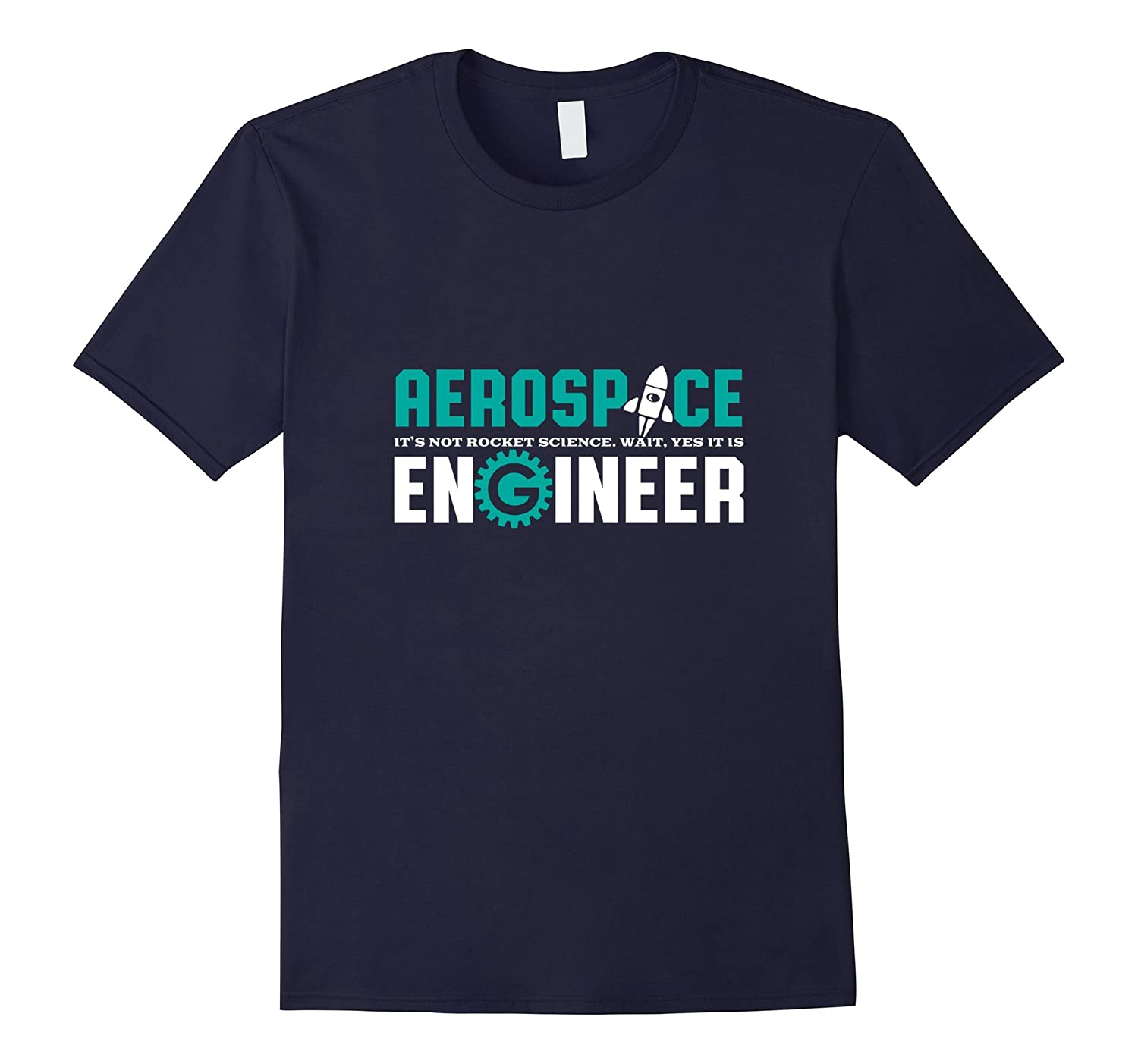 Funny Aerospace Engineer T-shirt Rocket Science Engineering-TH
