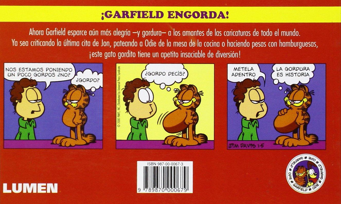 Amazon.com: Garfield, Personal Trainer (Spanish Edition) (9789870000679): Jim Davis: Books