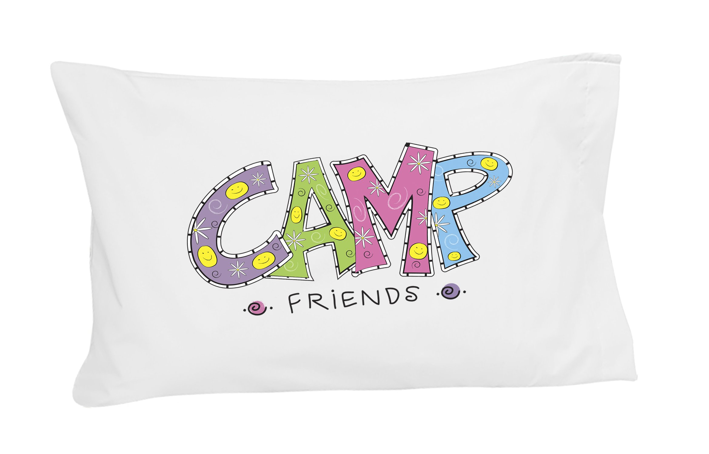 Camp Friends Autograph Pillowcase by Autograph Pillows