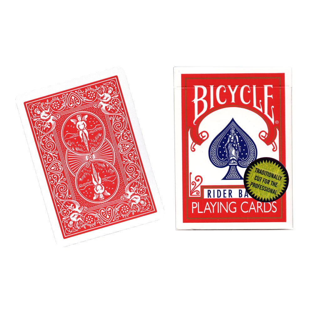 Mms bicycle playing cards gold standard red back by richard mms bicycle playing cards gold standard red back by richard turner trick amazon sports fitness outdoors kristyandbryce Gallery