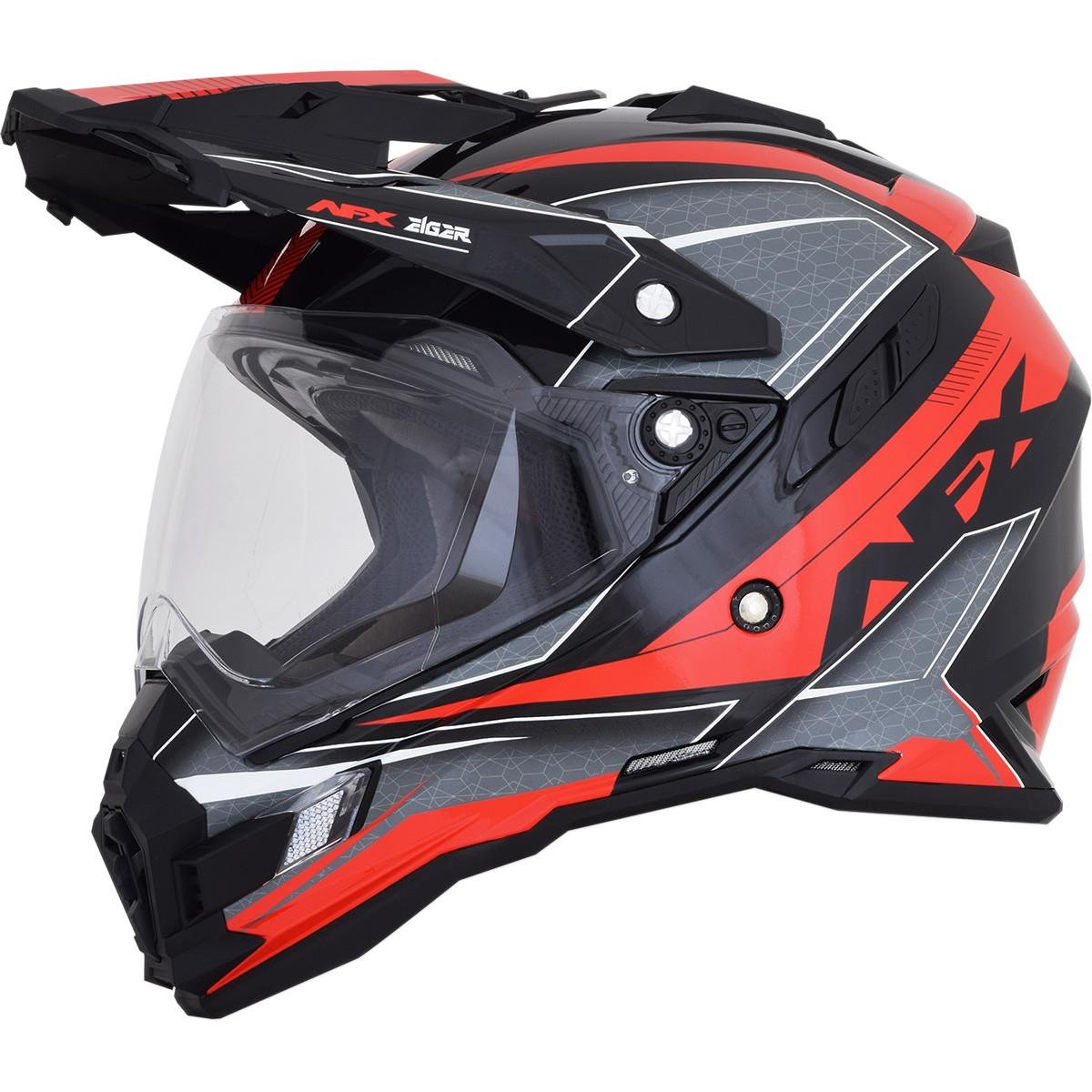 AFX FX-41DS Dual Sport Eiger Full Face Helmet Khaki//Green LG