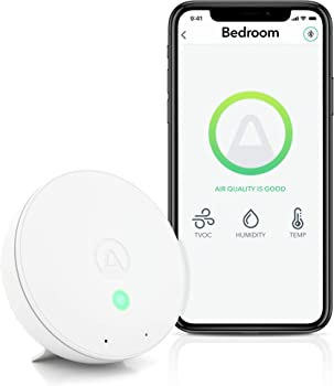 Airthings Wave Mini Indoor Air Quality Monitor