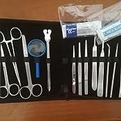 Matis® Kit de disección 26 piezas - Herramientas de acero inoxidable para estudiantes de biología/anatomía y veterinaria: Amazon.es: Industria, empresas y ciencia