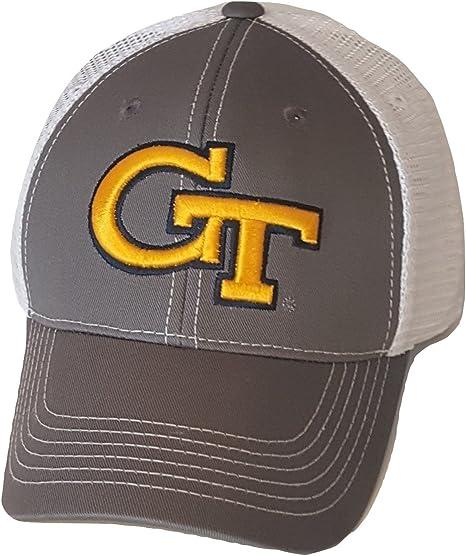 on wholesale wide varieties new product Amazon.com : Georgia Tech Yellow Jackets Cap Mesh Snapback Hat ...