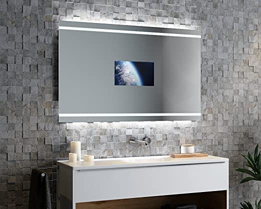 Espejo Ando Pandora v2 V – TV Espejo con iluminación LED modifique ...