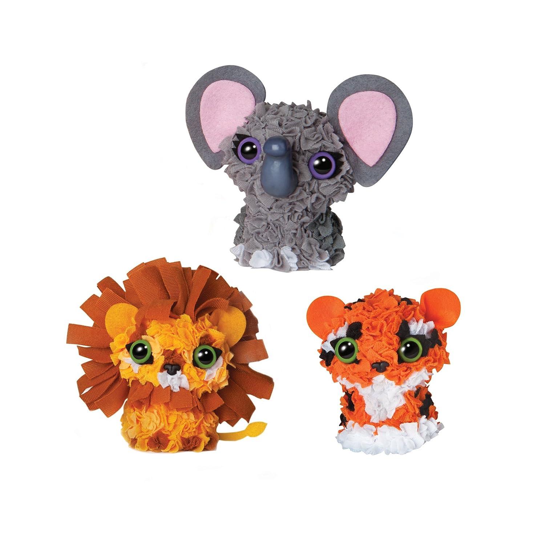 PlushCraft 76290 Animales de Zoo