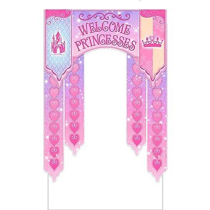 Amazon.com: Cartel de evento para puerta, princesas reales ...