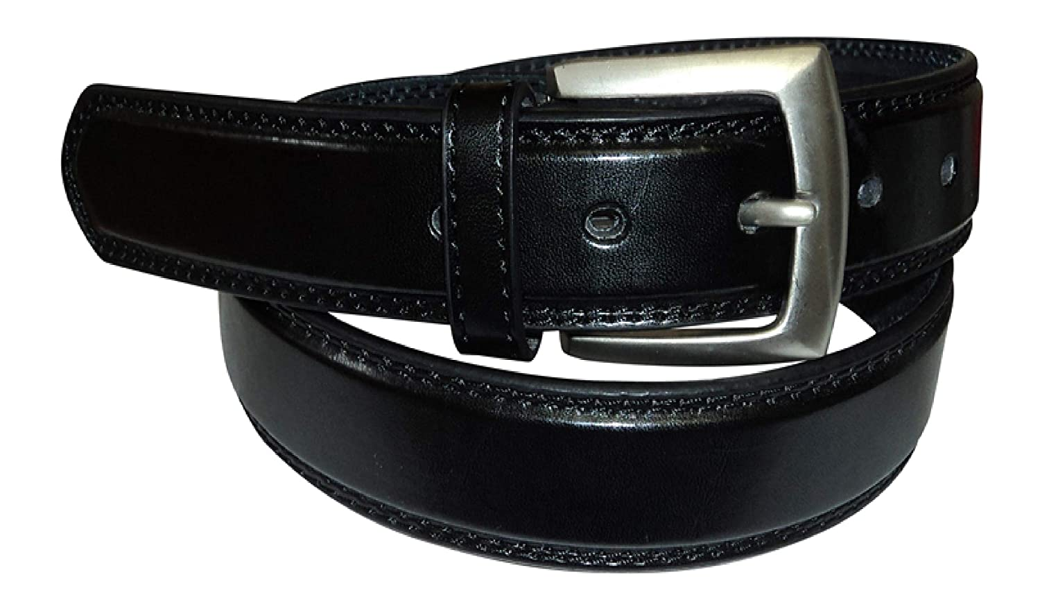 Mens Leather Belt Many Colours 1.25 Wide Classic Style