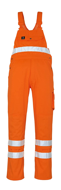 Mascot 00469-860-14-90C66'Maine' Bib & Brace, L90cm/C66, Orange