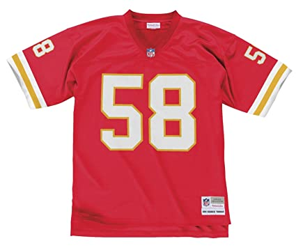 sports shoes ead9d 190f2 Mitchell & Ness Kansas City Chiefs Derrick Thomas Throwback Replica Jersey