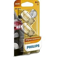 Philips 12065B2 Vision - Bombilla W21W (2 unidades)