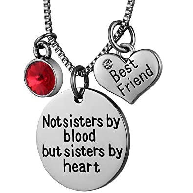 Amazoncom Nbe Collection Best Friend Necklaces For Women Sister