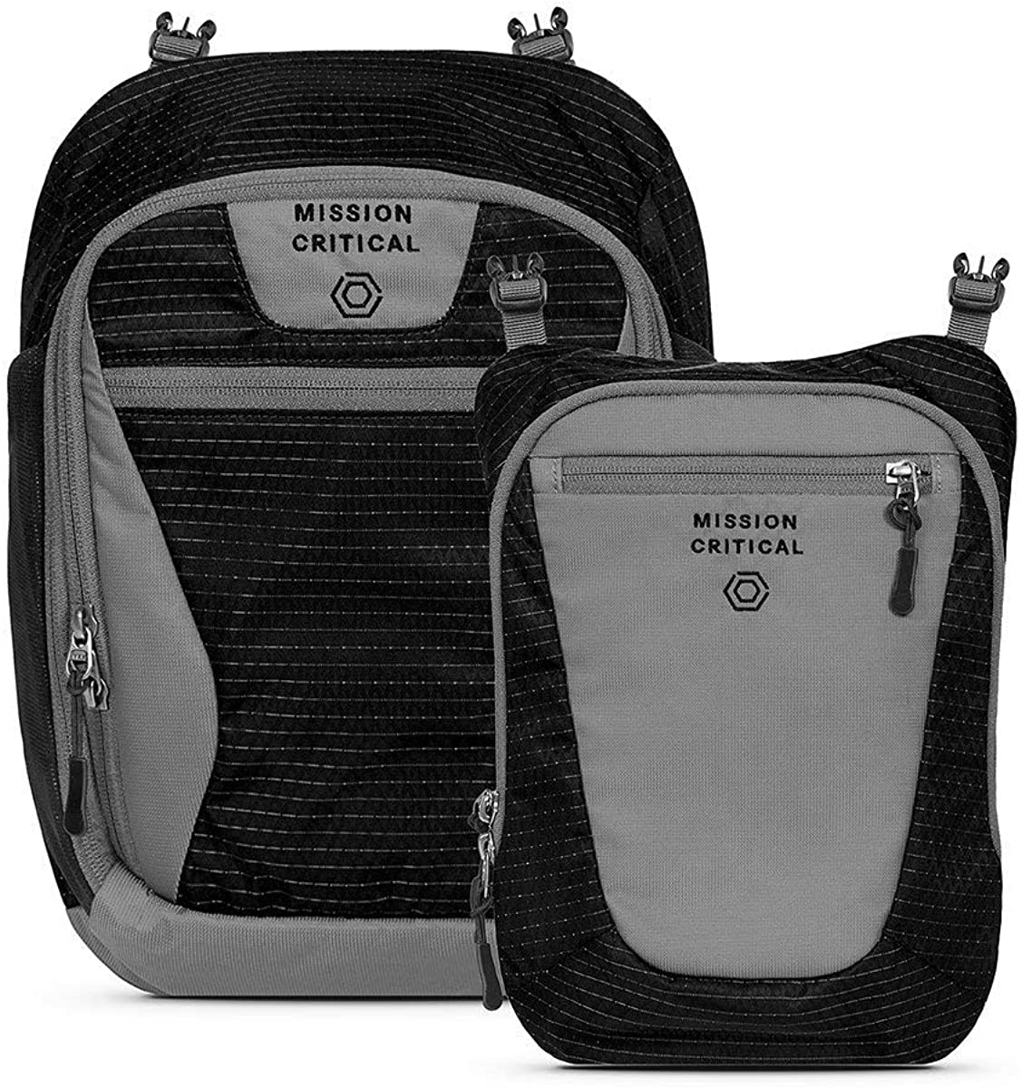 Mission Critical S.02 Daypack Baby Gear for Dads Attaches to Carrier