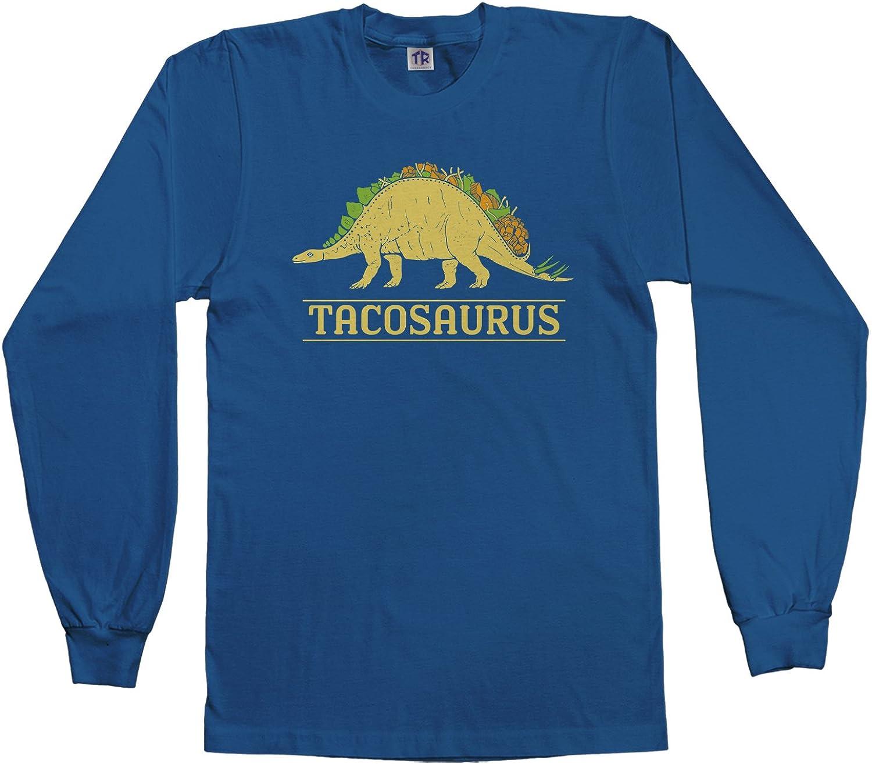 Threadrock Kids Tacosaurus Dinosaur Taco Youth Long Sleeve T-Shirt