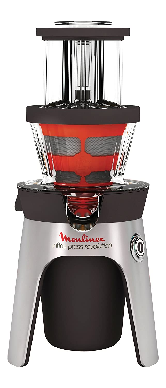 Moulinex Infiny Press - Licuadora, 300 W, jarra de 1L con separador de espuma, 2 rejillas de acero inoxidable, sistema anti goteo: Amazon.es: Hogar