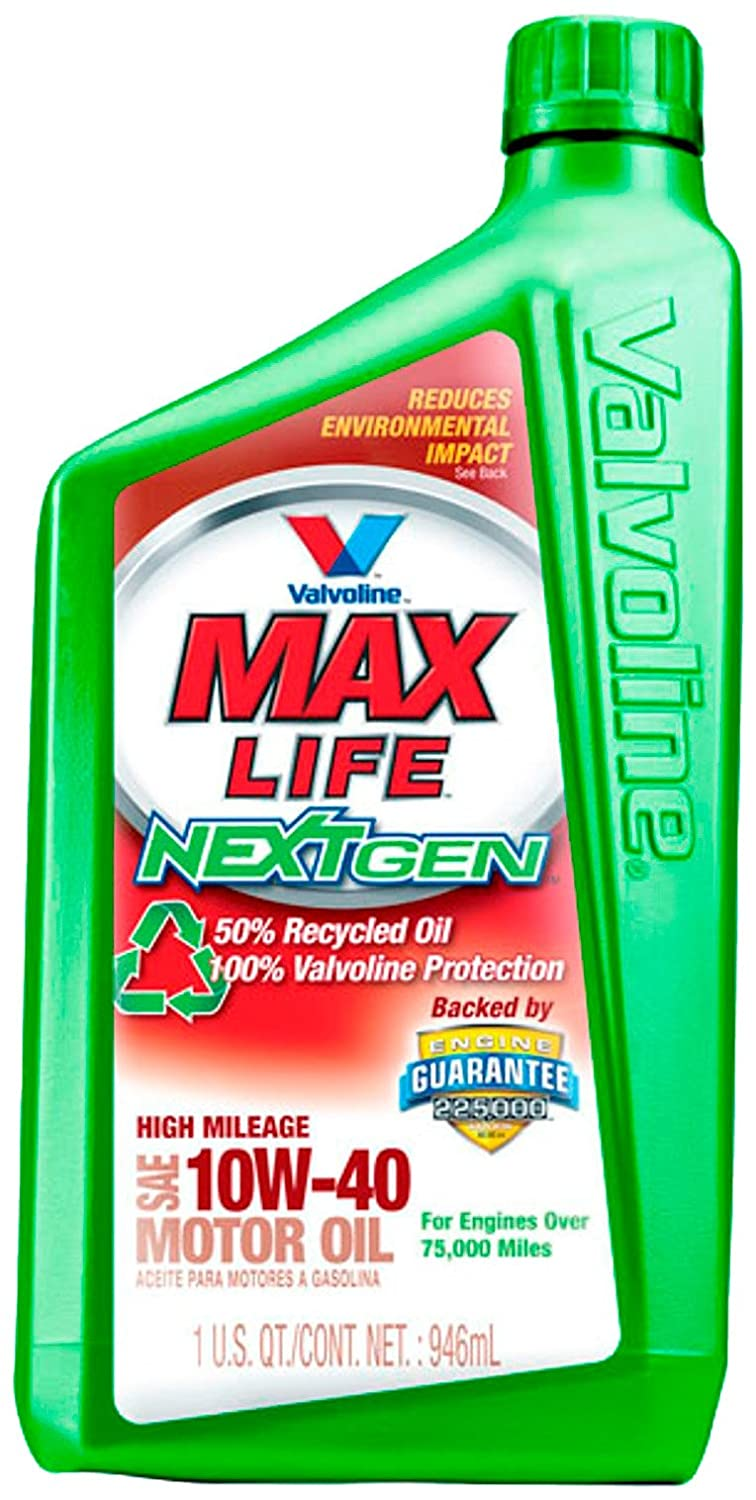 Valvoline768158 Nextgen Maxlife 10w 40 High Mileage Motor Oil 1 Quart Ebay