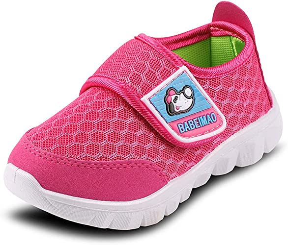 SENFI Kids Breathable Mesh Lightweight Walking Shoes Running Sneakers (Little KidToddler)