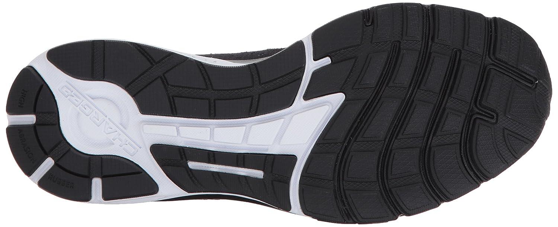 Under Armour Women's Charged Rebel Running Shoe B01N9GXI2E 8 M US|Black (001)/Rhino Gray