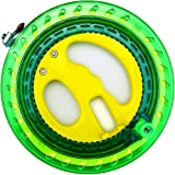HENGDA KITE Professional Outdoor Kite Line Winder Winding Reel Grip Wheel with 650 Feet (60LBS) Flying Line String…