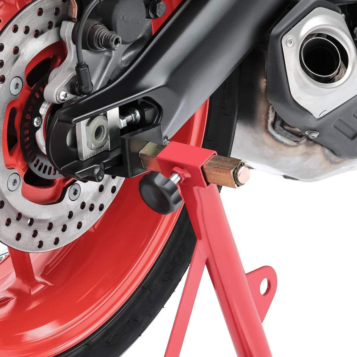 Caballete moto delantero trasero CPR ayuda parking