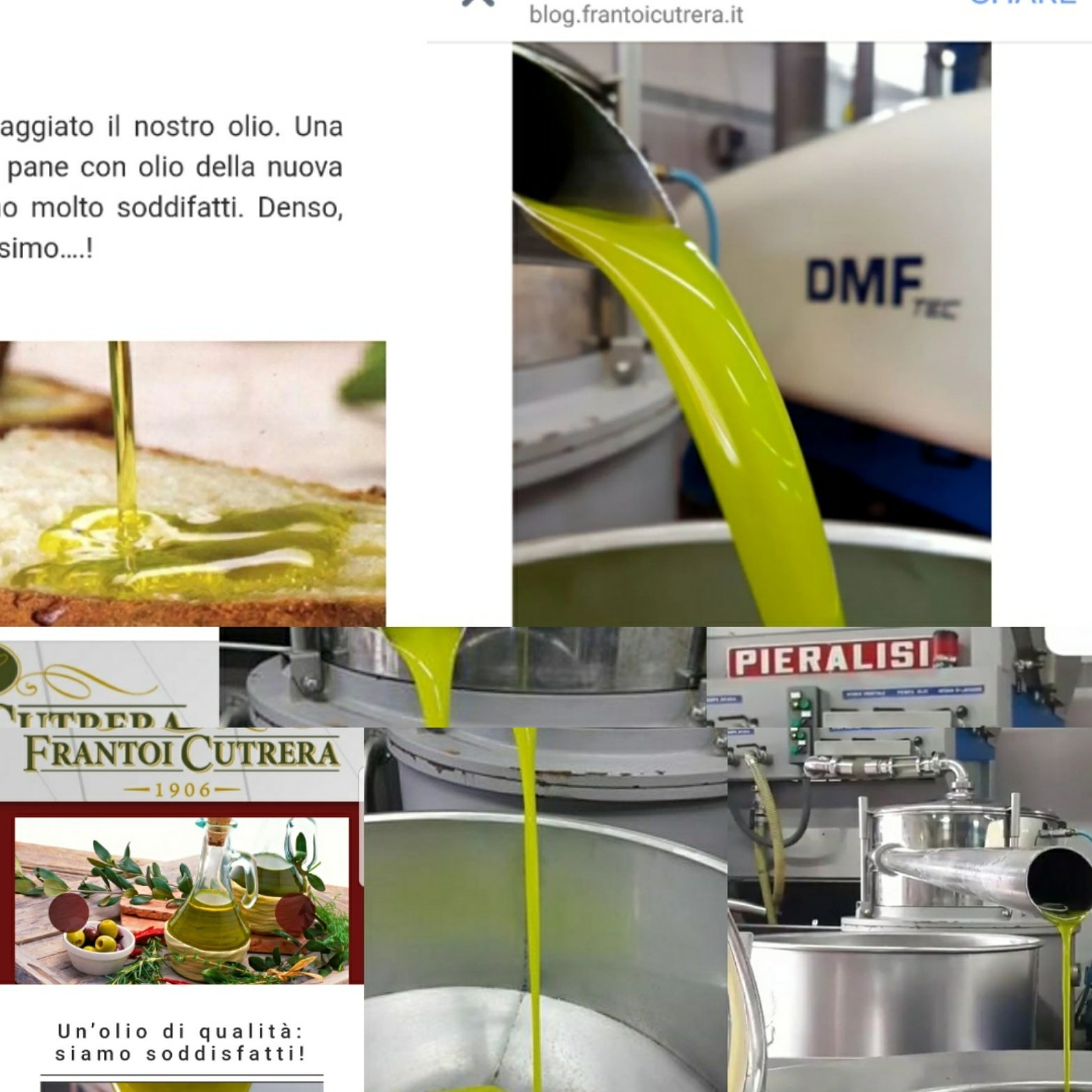 Frantoi Cutrera Primo Extra Virgin Olive Oil Monti Iblei D.O.P. - Pack of 6 (750ml / 25.4 fl oz)