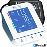 Blood Pressure Monitor - Premium Technology: Double Pulse Detection - Lightning fast (30-40 sec) and Highly Accurate - iProvèn BPM-2244BT - with Bluetooth Connectivity