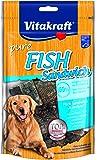 Vitakraft Hundesnack, Fish Sandwich mit Kabeljau und Fischhaut, Getreidefrei