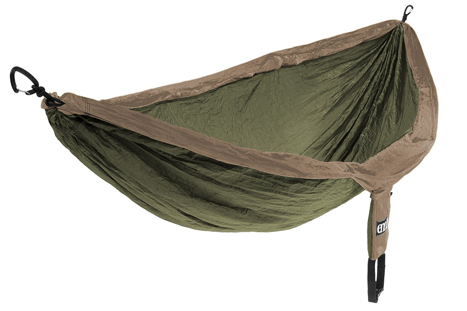 Eagles Nest Outfitters - DoubleNest Hammock with Insect Shield Treatment Khaki/Olive [並行輸入品] B077QH37PB