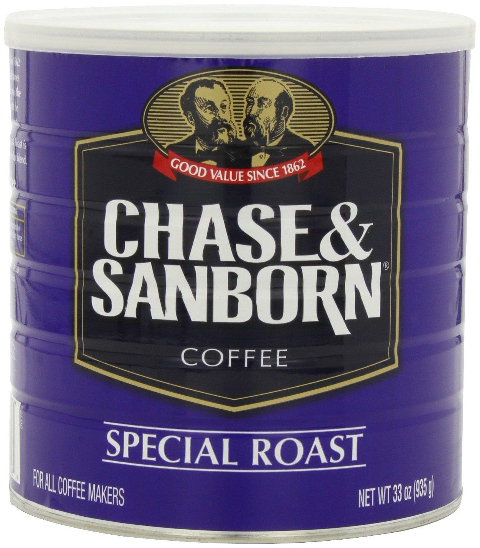 Amazon Com Chase Sanborn Coffee Special Roast Ground 30 5