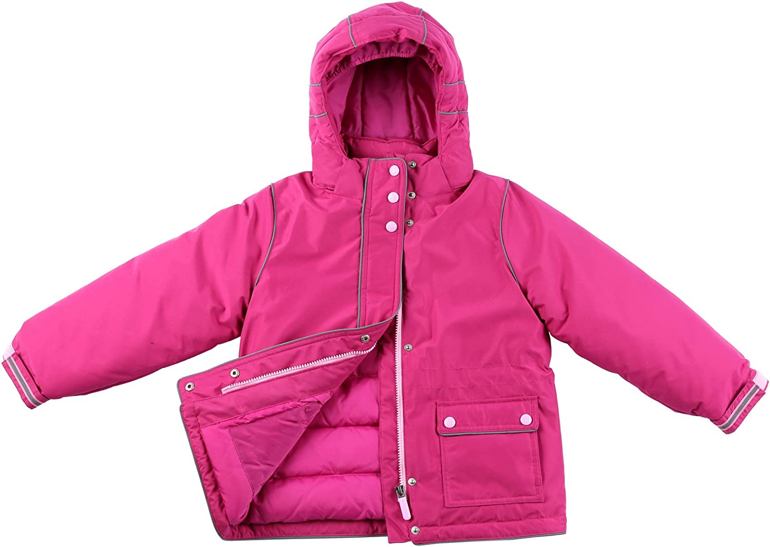 Momo Grow Little Girls Harper Down Filled Snow Jacket 4-6X