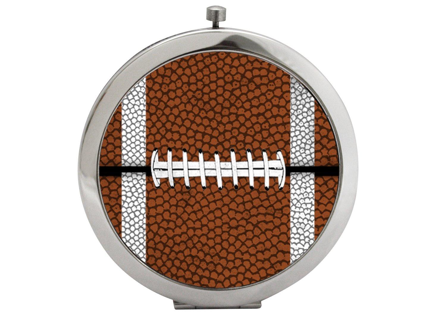 Snaptotes Football Design Compact Mirror