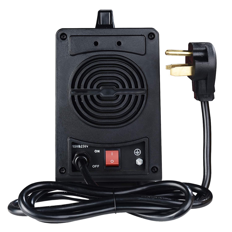 MMA-160, 160 Amp Stick Arc IGBT Digital Inverter DC Welder, 110V/230V Dual Voltage Input Welding. by Amico (Image #3)