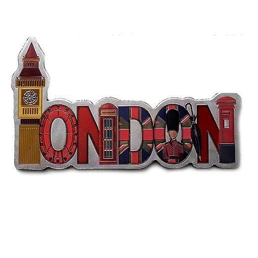 Artisan Gifts - Imán para Nevera, diseño de Londres: Amazon.es: Hogar