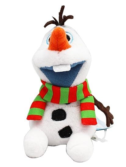 Amazon.com: Disney s Frozen Olaf Mini llavero de peluche w ...