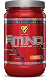 BSN Amino X Post Workout Muscle Recovery & Endurance Powder with 10 Grams of Amino Acids Per Serving, Flavor: Strawberry Orange, 30 Servings