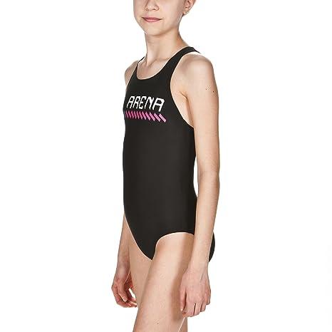 black-fresia 000165 Girls Arena Girls Sports Sumo Swimsuit