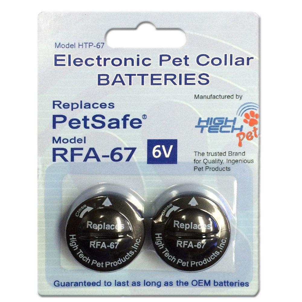 High Tech Pet 6-volt Electronic Pet Collar Alkaline Replacement Battery
