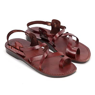 ea96a2c71222 Camel Classic Style Leather Sandals Designed and Produced in Jerusalem (36  EU 3 UK
