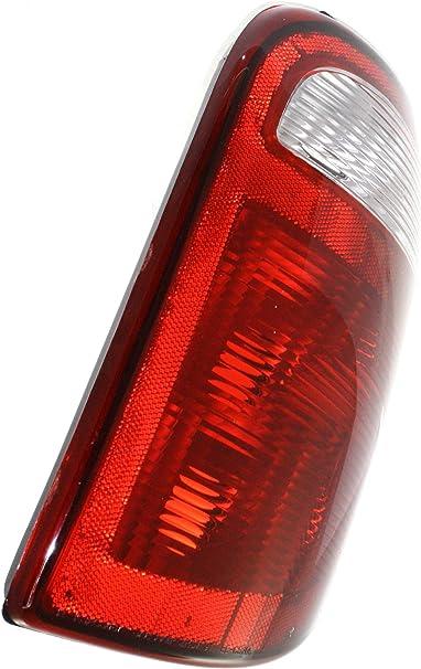 Left Driver Side Tail Light Assembly For 2001-2003 Dodge Caravan 2002 V338HS