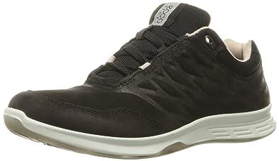 d8cb6f8d3d38 ECCO Women s Exceed Low Fashion Sneaker Black 36 EU 5-5.5 ...
