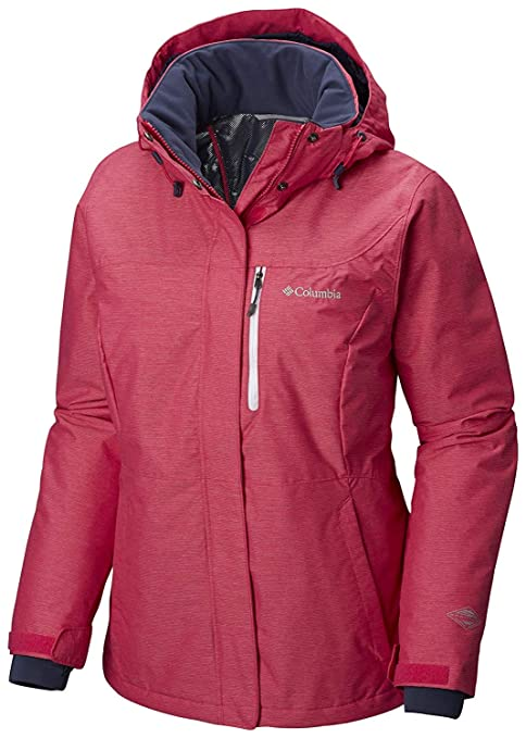 Columbia Alpine Action OH Jacket, Giacca da Sci Donna, Rosa (Cactus Pink), XS
